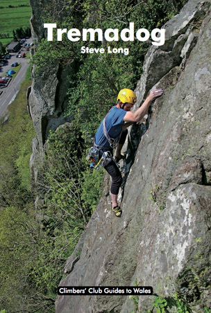 Jonathan Croxford on The Fang, Craig Bwlch y Moch (HVS) © The Climbers' Club, photo Don Sargeant