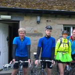 From the left Ian Whitfield, Simon Cook, Will Cook, Ruth Colwell, Ken Colwell and Andy Myatt.