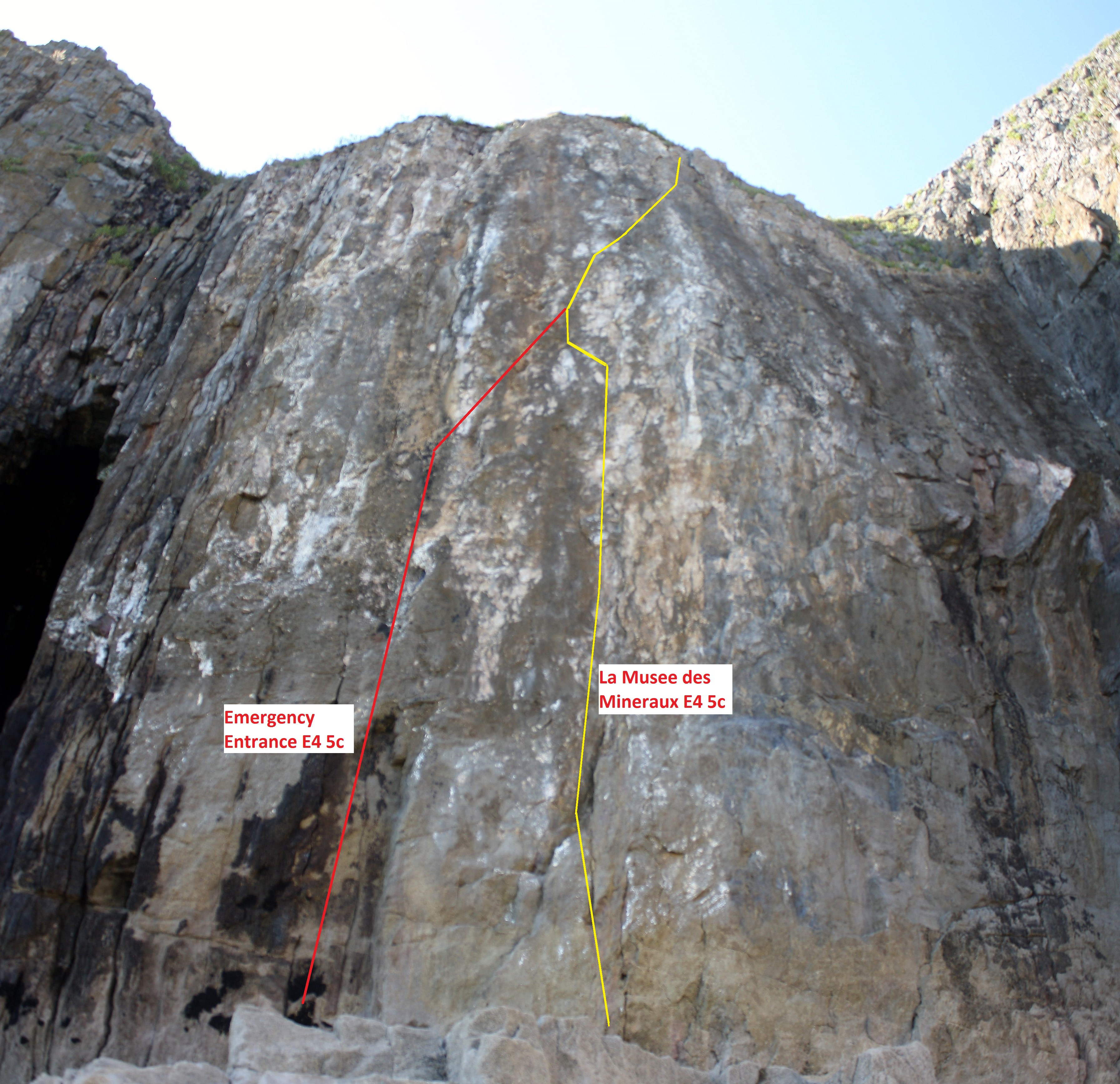 werribee gorge climbing routes guide
